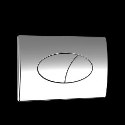 concealed cistern flush plate
